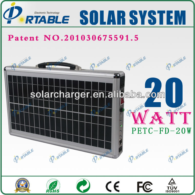 solar power instead fuel oil Portable Solar Power/Energy System 3W LED Lamp