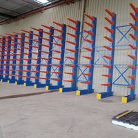beam industrial cantilever shelf