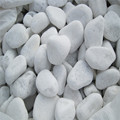 natural quartz stone white pebble