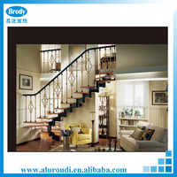 Aluminum Parapet Glass Railing for Staircase