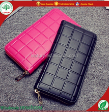 2016 new model Fashion Colorful Lady's wallets female wallets cheap price