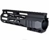 "AR15 M-LOK Series Super Slim Free Float Handguards Hand guard Quad Rail 7""/10""12.5""/15""/16.5""/19.5"""