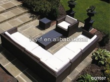 rattan modular furniture terrace sofa set/extra large sectional sofa/outdoor wicker sectional sofa l shaped