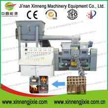 Piston stamping press convert waste to energy briquetting machine