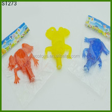 Novely Sticky Whistle Frogs For Children Magic Toys Inflated TPR Animals Toy