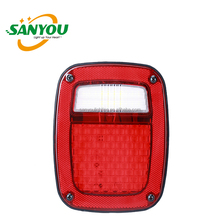 hot sale jeep wrangler TJ led tail light 12V led tail lamp for jeep 10W 240lm