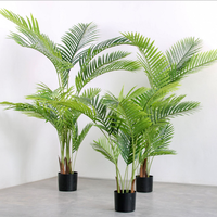120cm hot sale artificial palm tree leaves for decoration