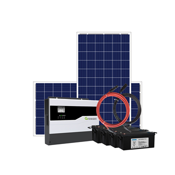 Off-grid storage SPF Solar Panel System  compatible with lithium and lead-acid battery  ON/OFF Hybrid Solar System