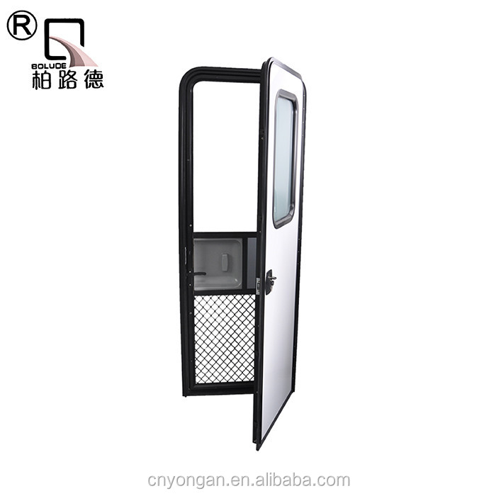 China high quality teardrop trailer anti-insect door