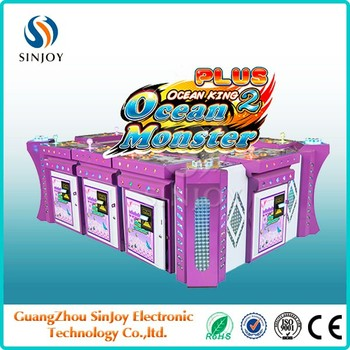Sinjoy luxury king of treasure plus fishing game machine/ocean king 2 ocean monster