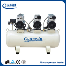 Top supplier good peice 90L silent oil free air compressor parts