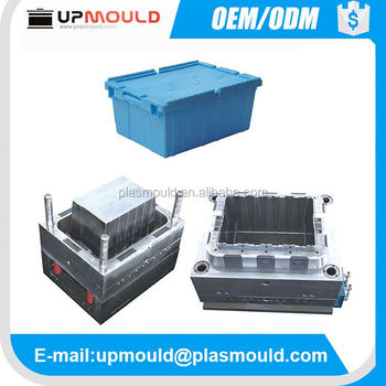Customized Plastic Products Injection Steel Mould Mold for Plastic Crate & Bin