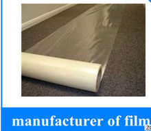 Polyethylene auto carpet protection film