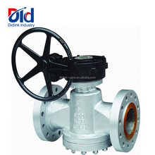 Gas Lined Spm Sanitary 3 Operation 4 Way 8 Ansi Standard Zdax47 Flip Oil Seal Plug Valve Dimension