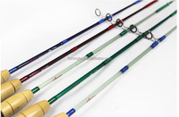 Hot Sale!1.5m 5colors one tip Super Hard Carbon Spinning Fishing Rod