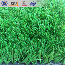 Bright/ dark green synthetic turf with silica quartz, all weather sport grass for football pitch