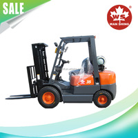 3.5 Ton Gas And LPG Forklift With Japanese Engine