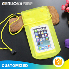 High performance universal PVC waterproof mobile phone case bag