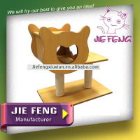 Luxury high quality MDF wood cats houses for outdoor