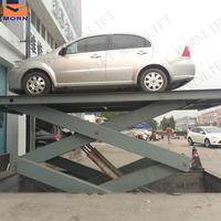 Stationary hydraulic pump for car lift