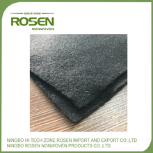 RS NONWOVEN eco-friendly shrink resistance polyester auto carpet anti slip grey felt