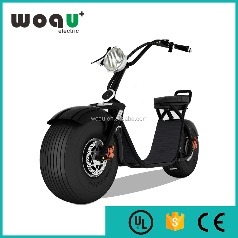 mobility woqu electric scooter cheap 2 wheel woqu electric motorcycle CE Certification Citycoco