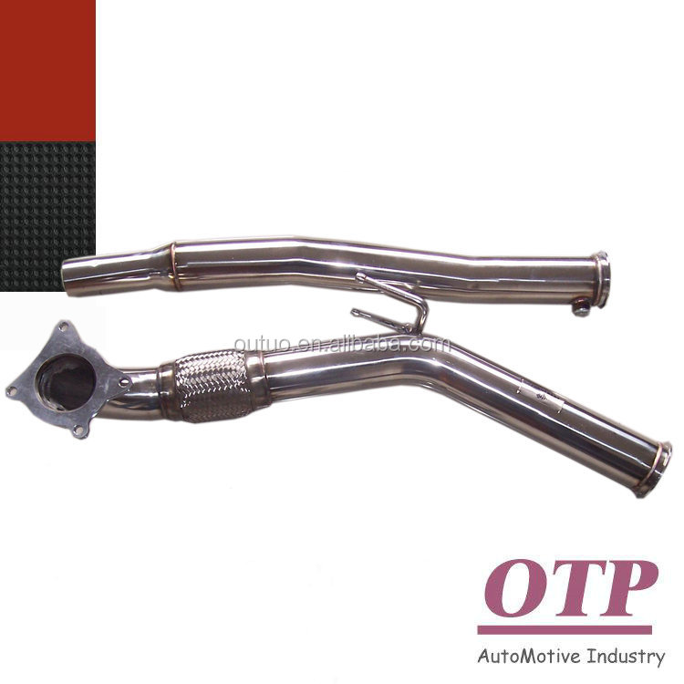 Exhaust downpipe for VW Golf GTI MK5 MK6 Jetta for Audi A3 2.0T