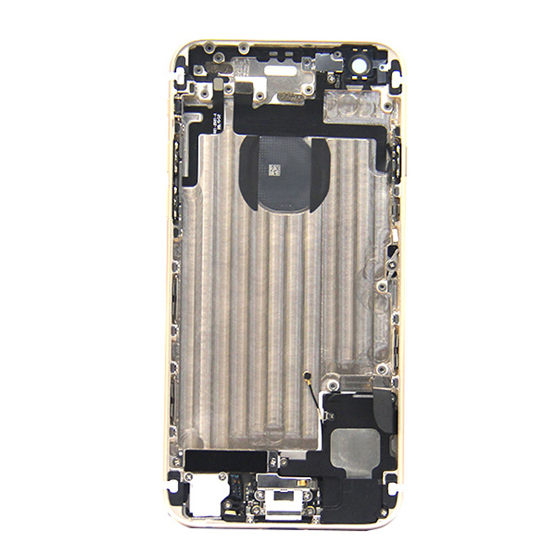 Gray 4.7 inch cell phone parts cover back housing for iphone 6