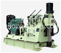 Spindle Core Drilling Rig XY-42A Using a duplicate gear pumps of reasonable power and low oil temperature
