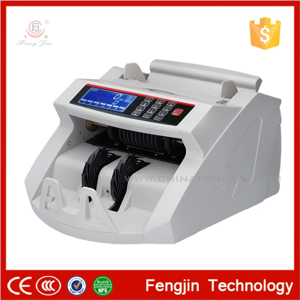 2819 LCD (Heavy-duty )Multi-Currency Counter Mix Value Money Counting Machine Fake note Detector Bill Sorter