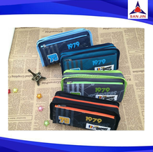 Hot sales pencil canvas case with color pencil for kids