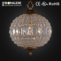 Crystal ball light pendant crystal lamp chandelier for big project