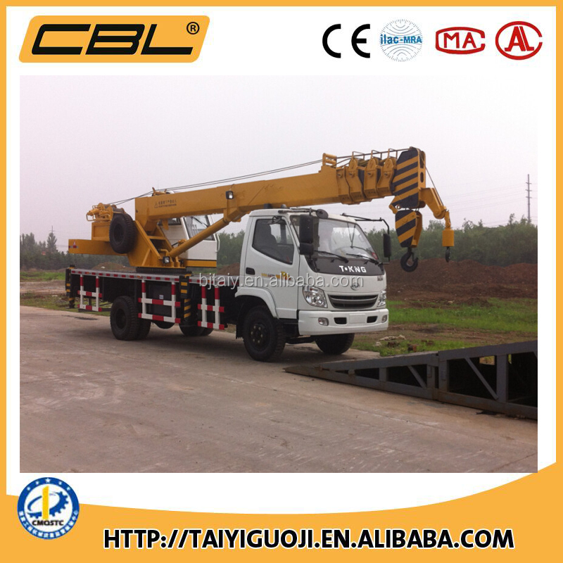 Widely used mini crane 10 Ton Truck Crane with low price