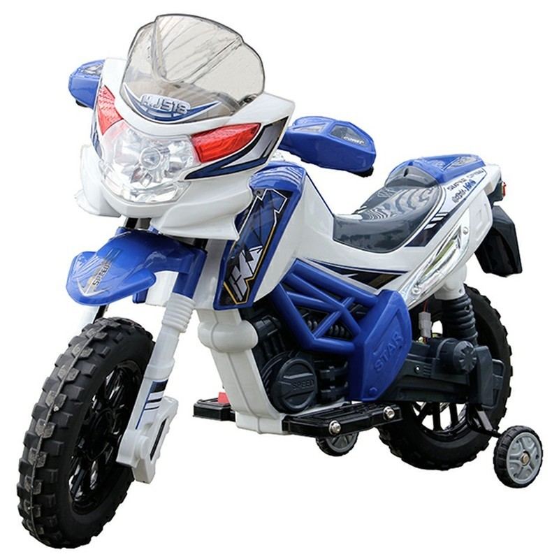 2013 Newest Fashion 6Volt Kids B/O Ride-on Motorcycle with Two Batteries