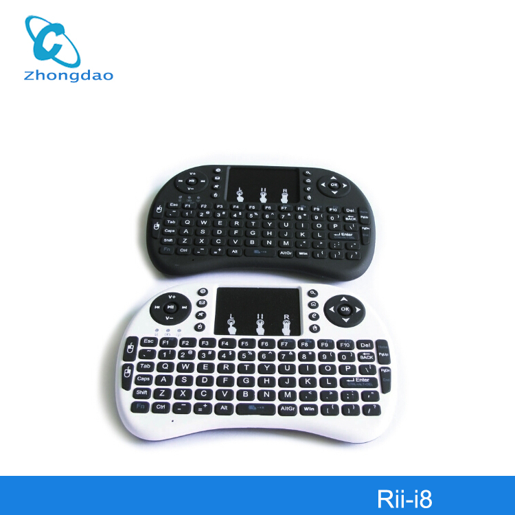 New generation Mini Wireless keyboard with Touchpad 2.4G Fly Air Mouse i8