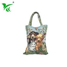 Best Sellers Decorative cute animals foldable reusable shopping bag