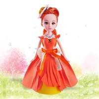 Hot Sale Light Weight Clay Child Craft Toys Princess Doll