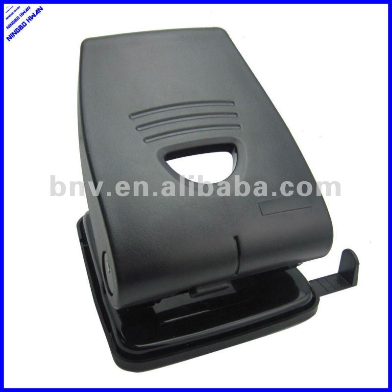 2 hole plastic heavy duty paper hole puncher