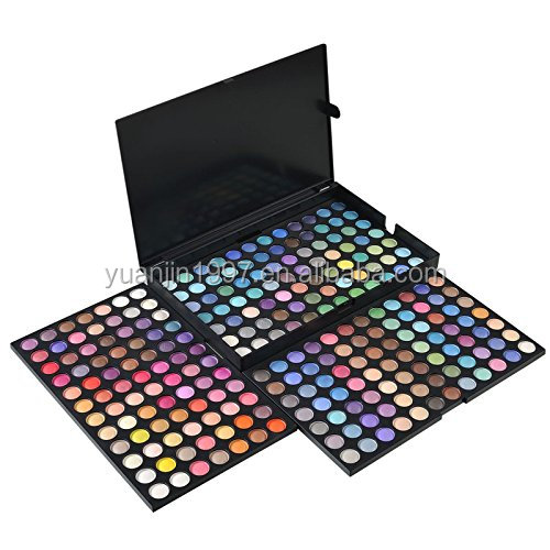 Professional 252 Colors Ultimate Eyeshadow Palette Private Label Cosmetic No Label Makeup Orgnic Eye Shadow Kit Set