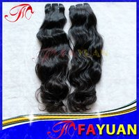 Reasonable Price!!! Loose Natual Wave Virgin Remy No Chemical Treated Peruvian Hair Weaving Extensions