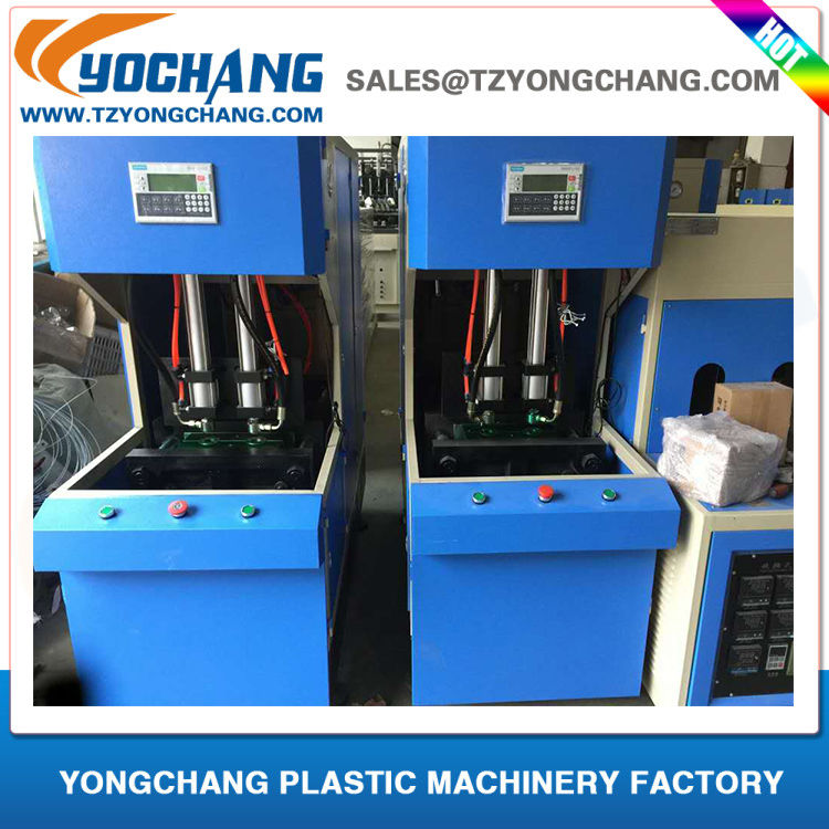 100ml 330ml 500ml 1L 2L mineral pure water bottles plastic bottle blowing machine price semi automatic stretch blowing machine
