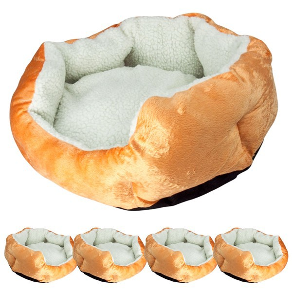2014 Winter warm and soft yellow luxury beds for dogs