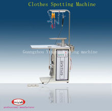 Advanced clothes spotting machine for laundry shop
