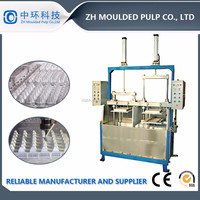 low cost semi automatic small paper recycling molding machine egg tray egg carton egg box making machine line small poultry farm
