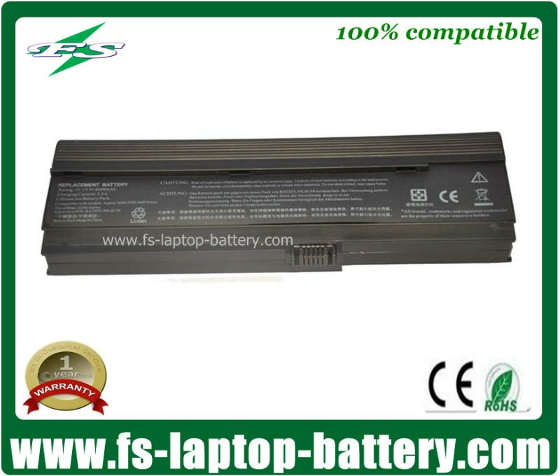11.1v 6600mAh universal external laptop battery charger for Acer Aspire 5600 3600 5500 series