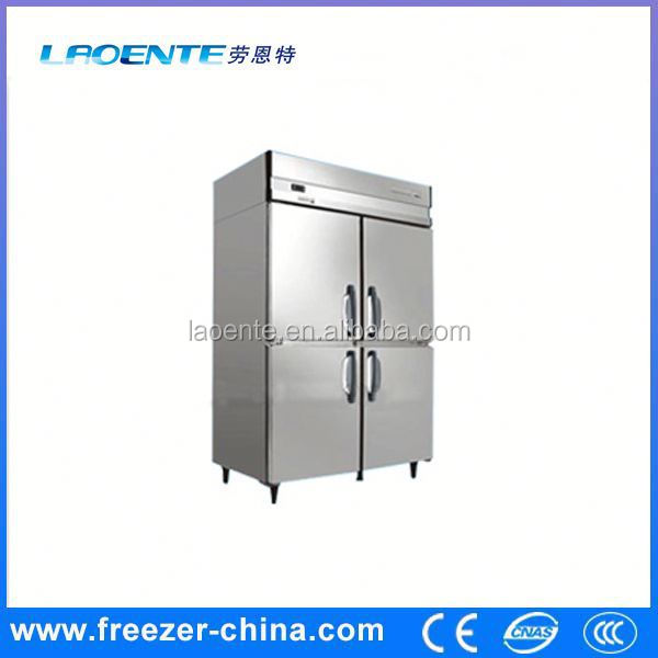 kitchen equipment Stainless steel vertical hiller 4 drawer freezer deep freezer for hotel kitchen with high quality