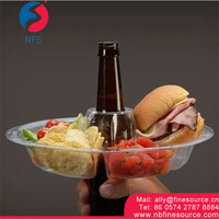 Food Plate Plastic PP Disposable Go Plate