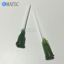 Free Shipping 14G PP Flexible Glue Dispensing Syringe Needles 1 Inch
