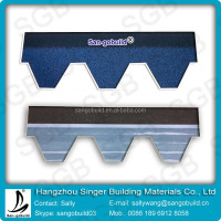 Full Adhesives Asphalt Roofing Shingles Mosaic Type