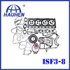ISF 3.8L top gasket set for car engine spare parts
